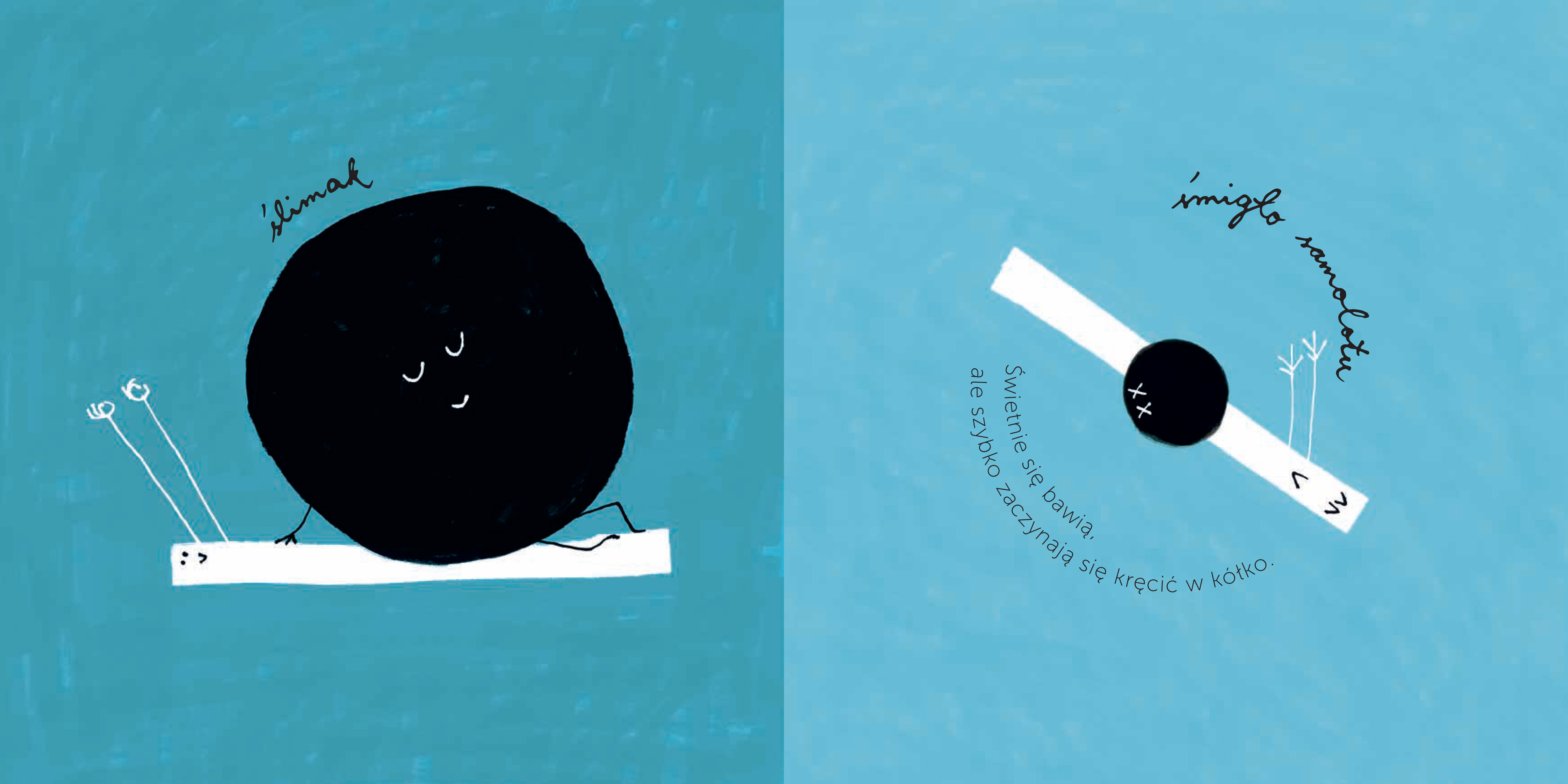 """Recenzje #170 - """"Kropka i kreska"""" - przykładowe strony 1 - Francuski przy kawie"""